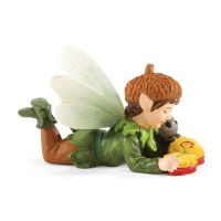 Department 56 Enchanted Guardians Fairy Garden James and The Caterpillar Fairy Figurine 4051169
